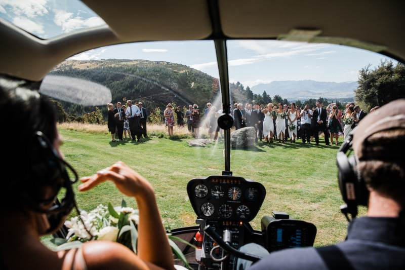 wedding helicopter packages